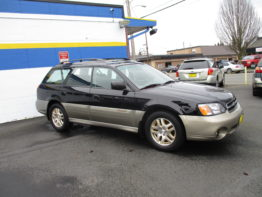 2002 Outback LTD 5 Speed $8295