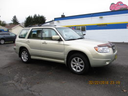 2006 Forester X 5 Speed $9995