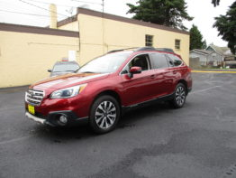 **2015 Outback Limited** $17,595 SOLD!