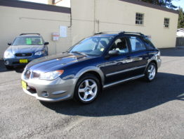2006 Impreza Outback Sport 5 Speed $8695