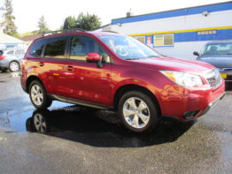 2014 Forester Premium 6 Speed $18,495