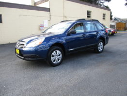 2011 Outback Wagon 6 Speed $10,295